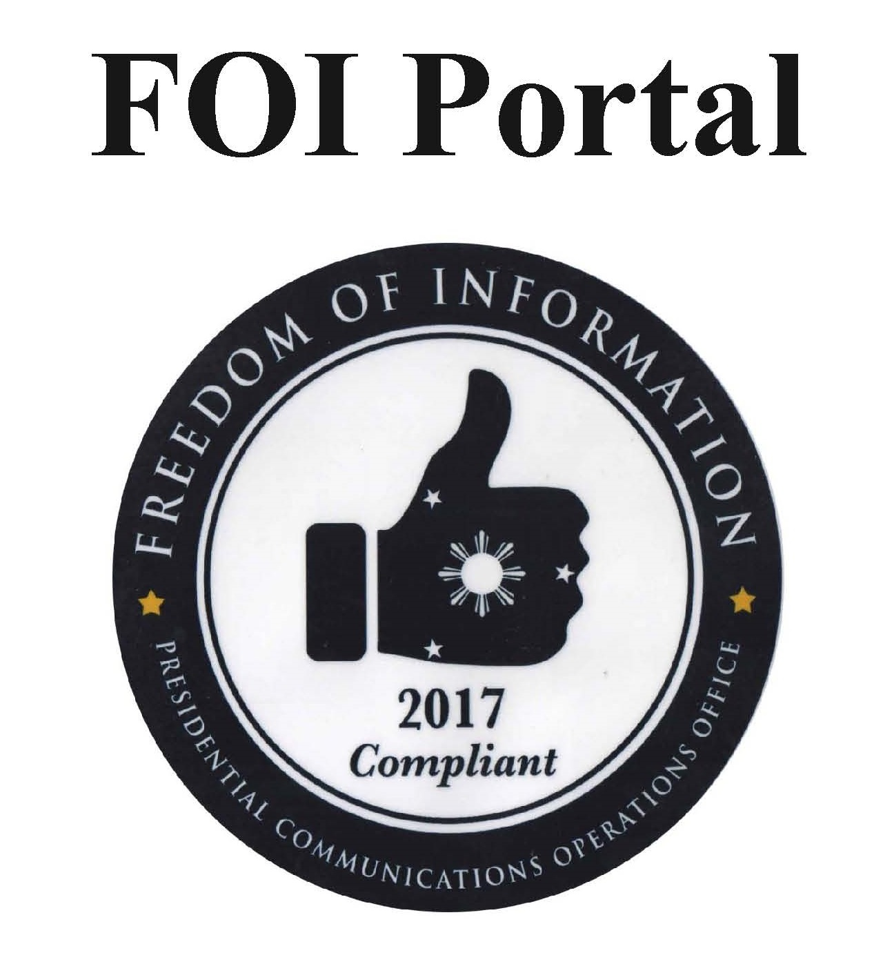 FOI Portal with text